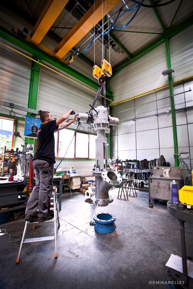 Reportage-industriel-de- Roforge-a-St-Chamond-situe-en-region-Auvergne-Rhône-Alpes-photo-Emma-Pellet