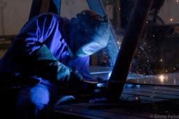 reportage photo industriel soudure chaudronnerie coueron, nantes, entreprise loire atlantique